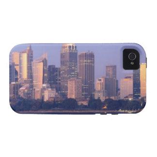 Panorama del horizonte de Sydney en la puesta del iPhone 4 Carcasa
