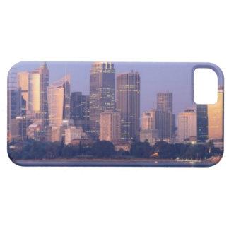 Panorama del horizonte de Sydney en la puesta del iPhone 5 Carcasa