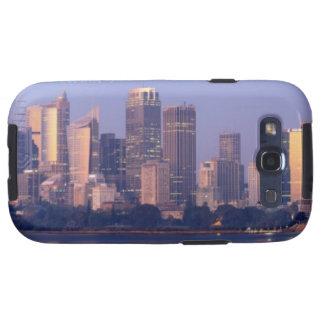 Panorama del horizonte de Sydney en la puesta del  Galaxy SIII Funda