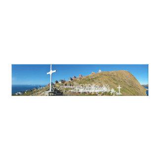 Panorama del noroeste de Groenlandia del Impresión En Lienzo
