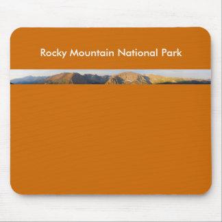 Panorama del Parque Nacional de las Montañas Rocos Tapete De Ratón
