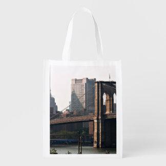 Panorama del puente de Brooklyn Bolsa De La Compra
