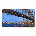 Panorama del puente de puerto de Sydney, ópera de  Barely There iPod Carcasa