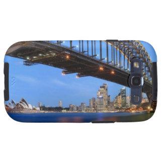 Panorama del puente de puerto de Sydney, ópera de  Galaxy SIII Funda