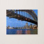Panorama del puente de puerto de Sydney, ópera de  Rompecabezas