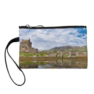Panorama Eilean Donan Castle viewed from south Coin Wallets