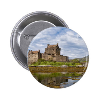 Panorama Eilean Donan Castle viewed from south Pin