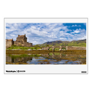 Panorama Eilean Donan Castle viewed from south Wall Sticker