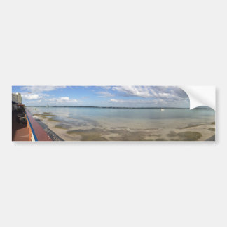 Panorama en Clearwater, FL Pegatina Para Auto