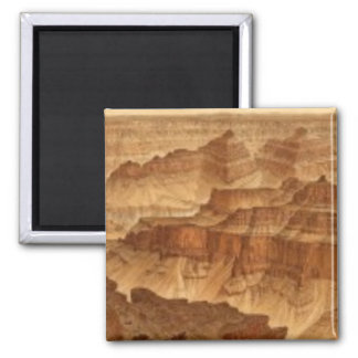 Panorama from Point Sublime 2 2 Inch Square Magnet