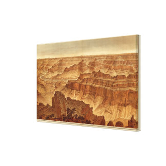 Panorama from Point Sublime Stretched Canvas Prints