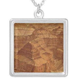 Panorama from Point Sublime Square Pendant Necklace