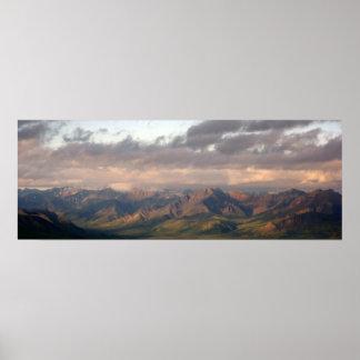 Panorama From Primrose Ridge Posters