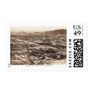 Panorama, Glendale, California Vintage Stamp