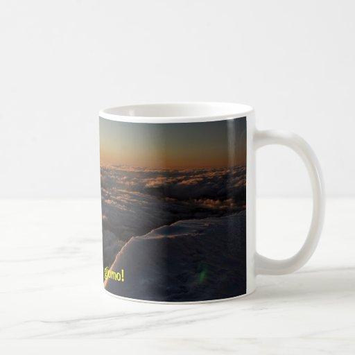 Panorama impresionante de la montaña taza clásica
