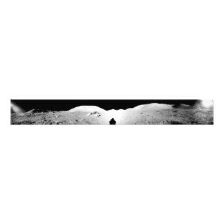 Panorama montado 2 de Apolo 17 Fotografías
