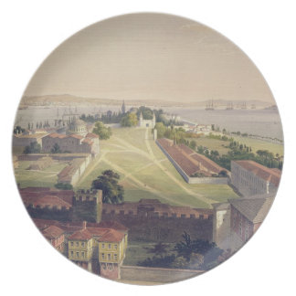 Panorama of Constantinople, plate 22 from 'Aya Sof