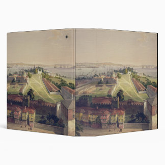 Panorama of Constantinople, plate 22 from 'Aya Sof 3 Ring Binder