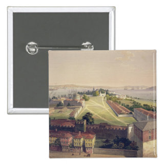 Panorama of Constantinople, plate 22 from 'Aya Sof Buttons