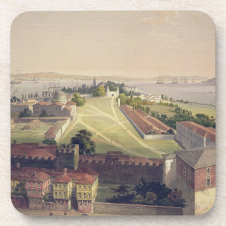 Panorama of Constantinople, plate 22 from 'Aya Sof Drink Coaster
