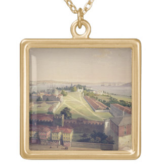 Panorama of Constantinople, plate 22 from 'Aya Sof Custom Necklace