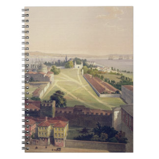 Panorama of Constantinople, plate 22 from 'Aya Sof Notebook
