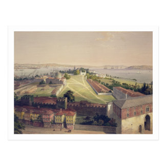 Panorama of Constantinople, plate 22 from 'Aya Sof Postcard