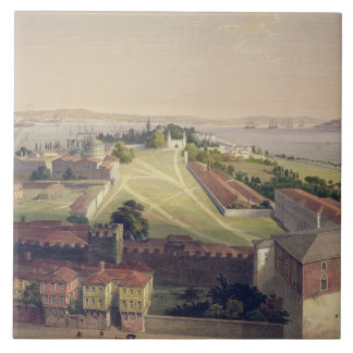 Panorama of Constantinople, plate 22 from 'Aya Sof Ceramic Tile