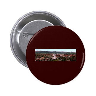 Panorama of Denver Colorado Pinback Buttons