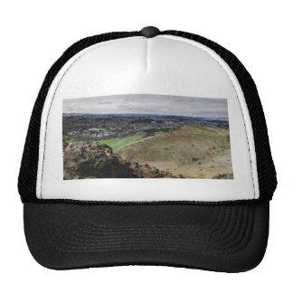 Panorama of Edinburgh Scotland from Arthur's Seat Trucker Hat