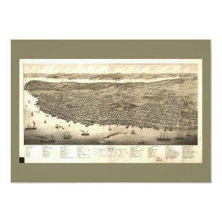 Panorama of Halifax, Nova Scotia, Canada (1879) Card