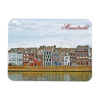 Panorama of Maastricht, Netherlands Vinyl Magnet