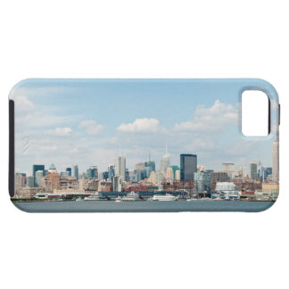 Panorama of Midtown Manhattan over Hudson River iPhone SE/5/5s Case