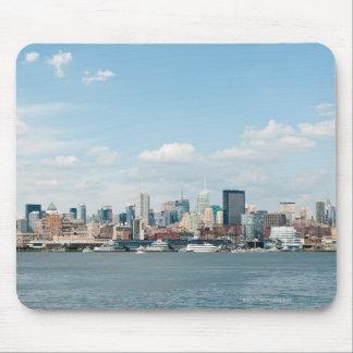 Panorama of Midtown Manhattan over Hudson River Mouse Pad