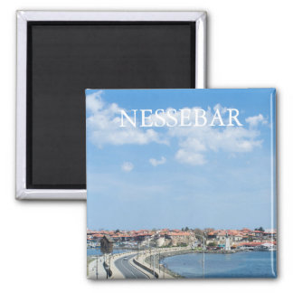 Panorama of Old Nessebar. Bulgaria 2 Inch Square Magnet