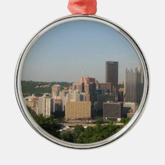 Panorama of Pittsburgh Ornament