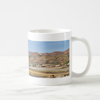 Panorama of Portman Spain Coffee Mugs