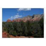 Panorama of Red Rocks in Sedona Arizona Card