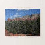 Panorama of Red Rocks in Sedona Arizona Jigsaw Puzzle
