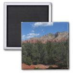 Panorama of Red Rocks in Sedona Arizona Magnet