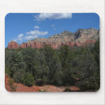 Panorama of Red Rocks in Sedona Arizona Mouse Pad