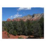 Panorama of Red Rocks in Sedona Arizona Photo Print
