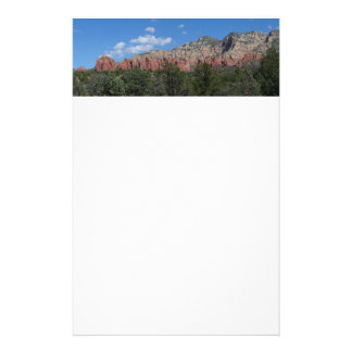 Panorama of Red Rocks in Sedona Arizona Stationery