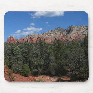 Panorama of Red Rocks Sedona Arizona Travel Photo Mouse Pad