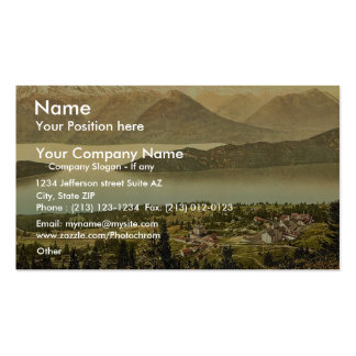 Panorama of Rigi Kaltbad and the Lake of the Four Double-Sided Standard Business Cards (Pack Of 100)