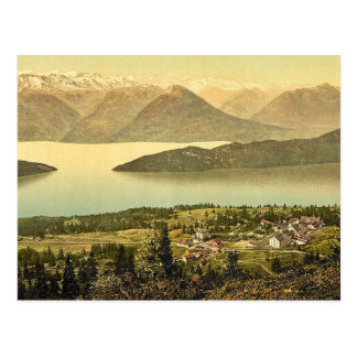Panorama of Rigi Kaltbad and the Lake of the Four Postcard