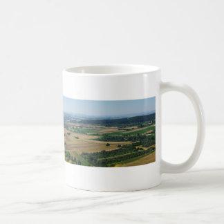 Panorama of Rural German Landscape Coffee Mug