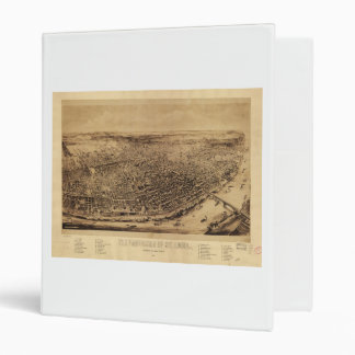 Panorama of St. Louis Missouri (1894) 3 Ring Binder