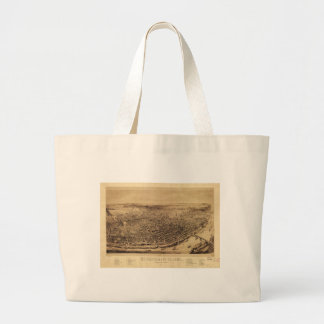 Panorama of St. Louis Missouri (1894) Large Tote Bag