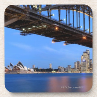 Panorama of Sydney Harbour Bridge, Sydney Opera Drink Coaster